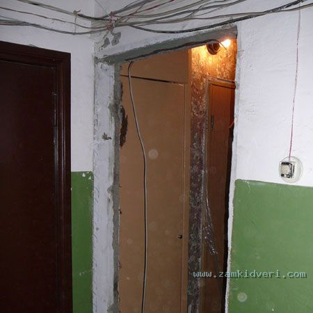 установка и демонтаж входной двери в подольске