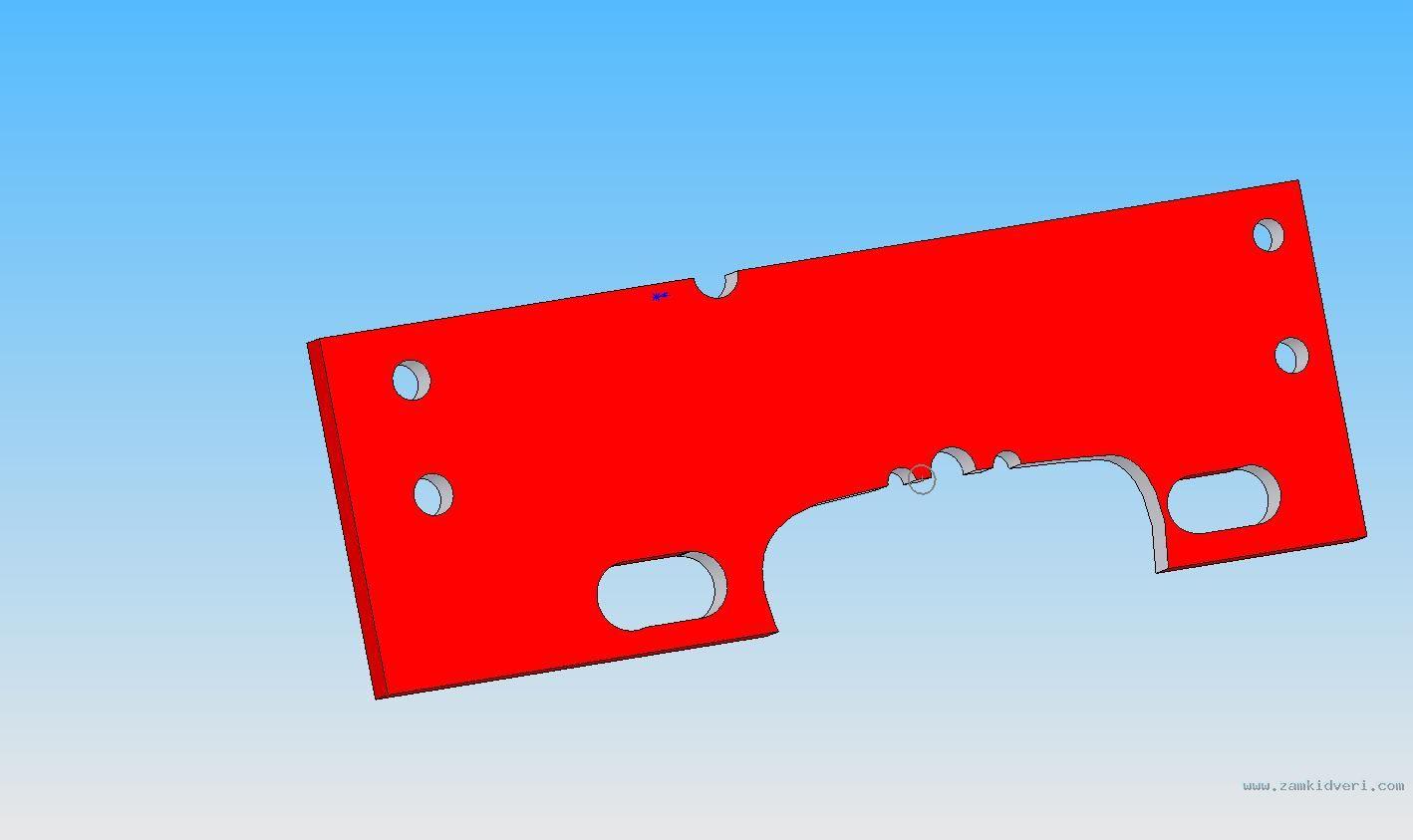 Нажмите на изображение для увеличения Название: бронепластина повреждённая.jpg Просмотров: 2630 Размер:47.4 Кб ID:20642