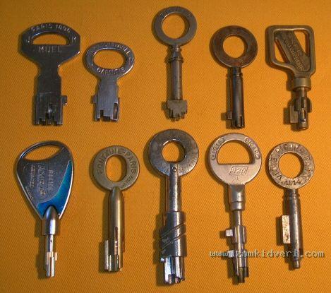 clefs pompe