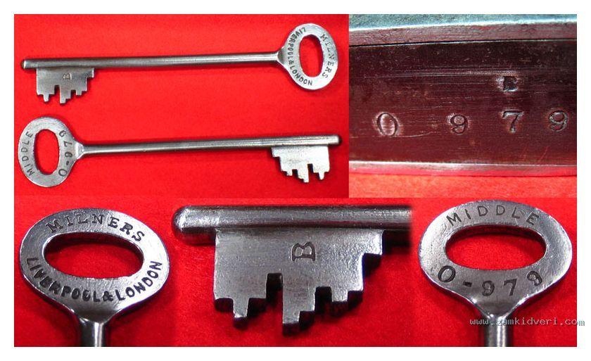 minlers trible stump lock   3   keys 202