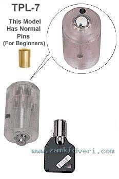 lpbrotpl   brockhage tubular clear plastic lock