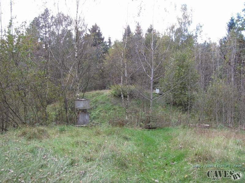 underground fuel depot