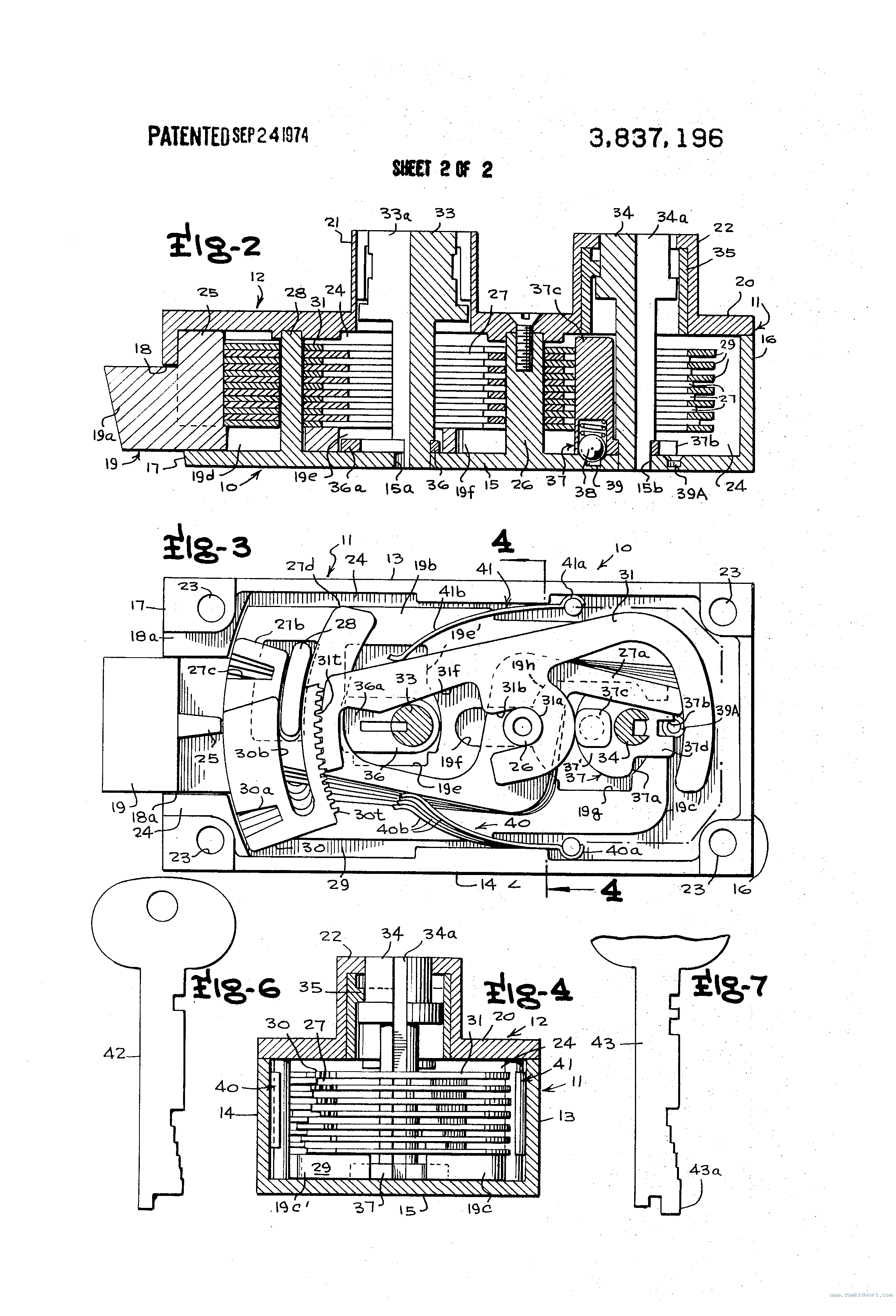 US3837196 2