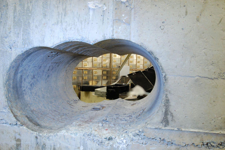 inside vault