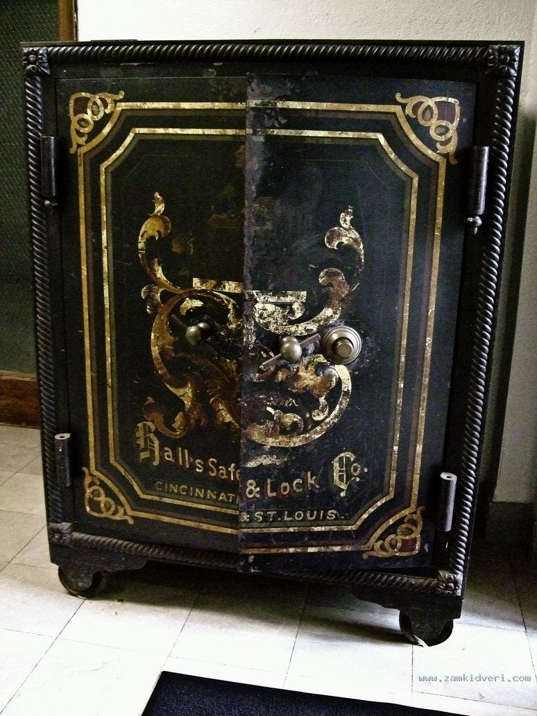 antique safe ii by baq stock