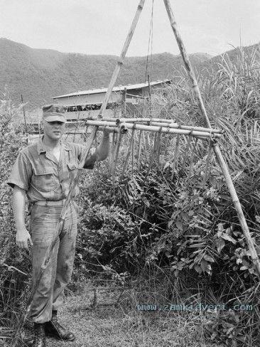 vietnam war viet cong booby traps