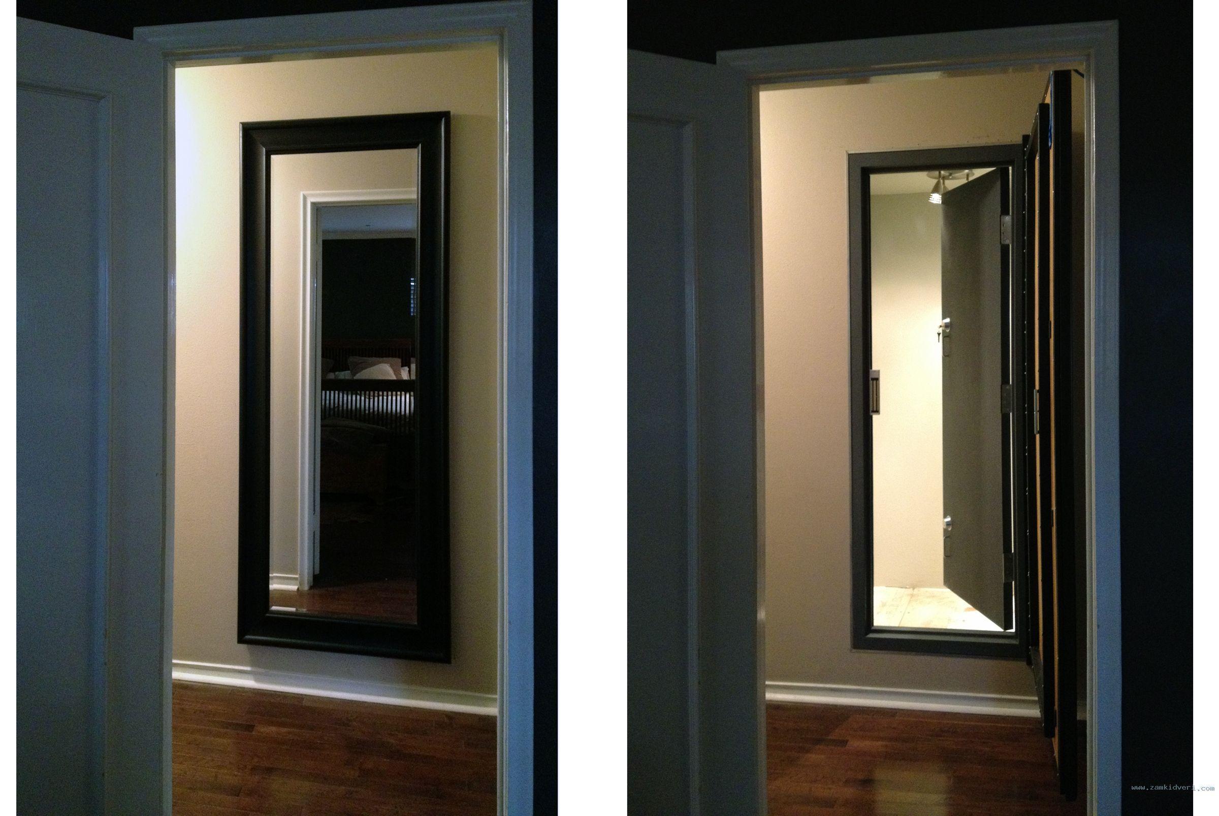 hidden safe room with door closed door open2