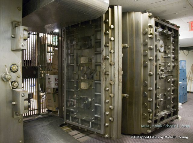 Safety Deposit Graveyard Woolworth Building Interior Irving National Bank Vault Cass Gilbert NYC