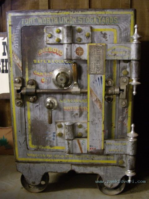 Ft Worth Union Stockyards antique Safe