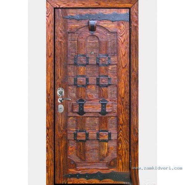 Приятная внешняя отделка дверей