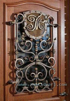 Решётки на двери 2