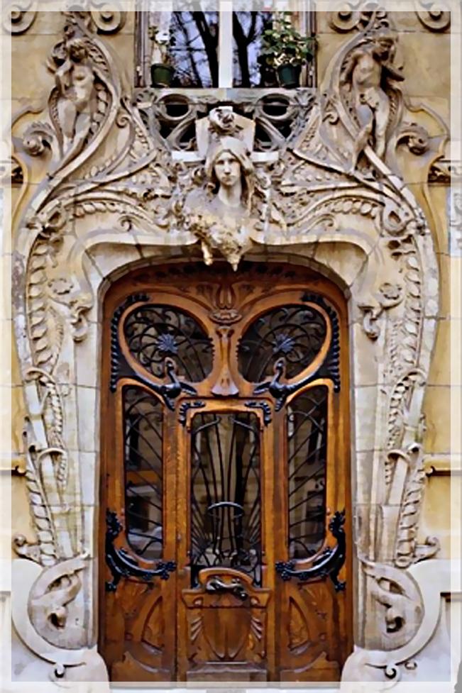 входные двери на заказ в стиле модерн