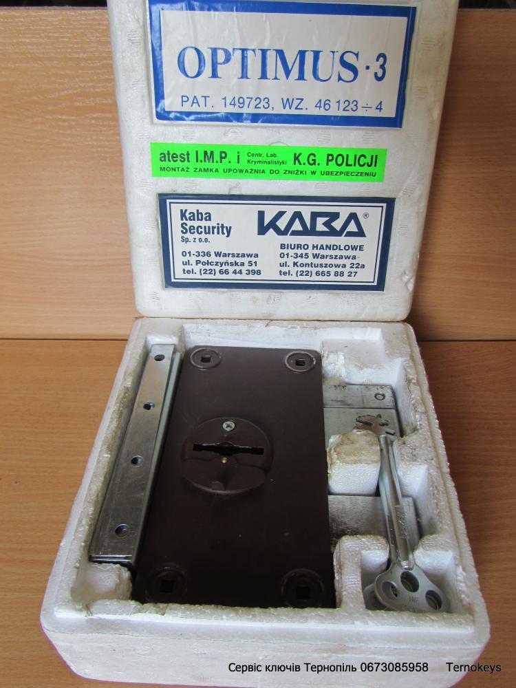 KABA_Optimus-3 Польша